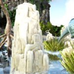 【ARK】クリスタルアイルズで硫黄と塩が採れる場所